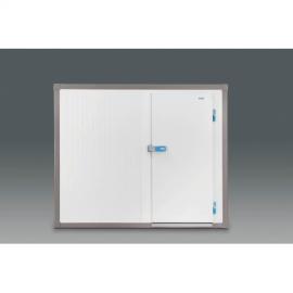 Cámara frigorífica modular de medidas 1.72x4,12m frontal