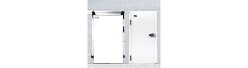 Puertas frigoríficas pivotantes