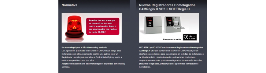 Registradores temperatura